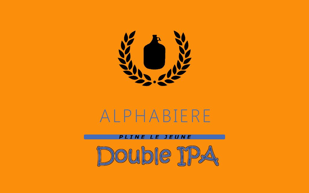 Recette 19 litres Double IPA (Imperial IPA)